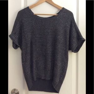 Forever 21 grey shimmer top. Small